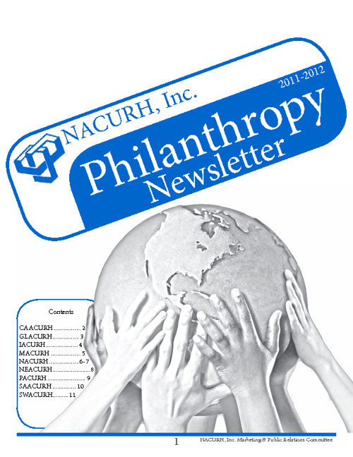 2011-2012 NACURH Philanthropy Newsletter