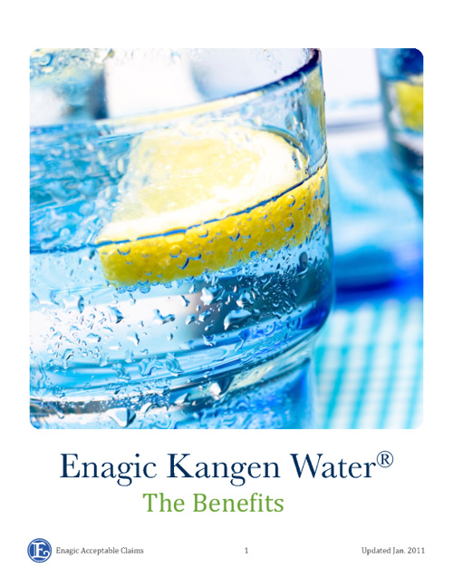 facebook/kangenwaterirl - Benefits Of Drinking Kangen Water