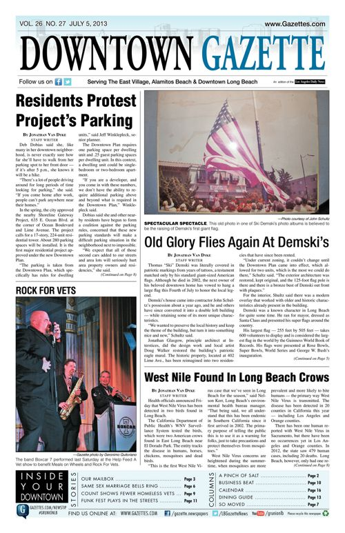 Downtown Gazette  |  July 5, 2013