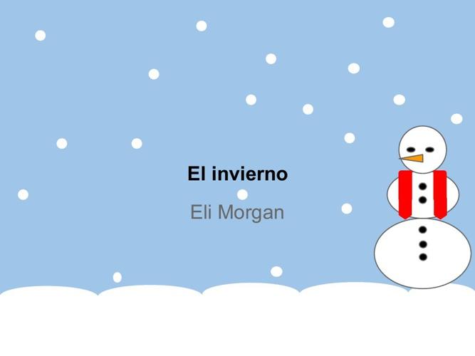 EL invierno Eli Morgan