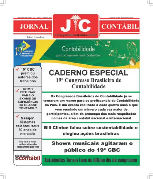 Jornal Contábil - Edição de Setembro