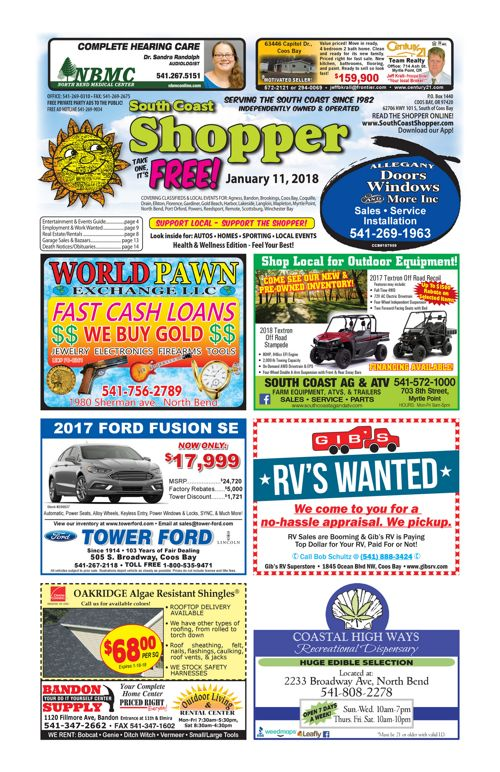 South Coast Shopper e-Edition 1-11-18