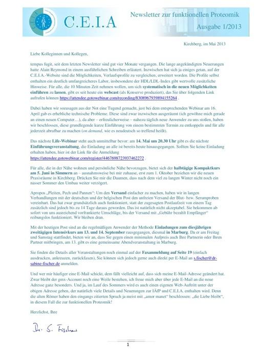 CEIA News