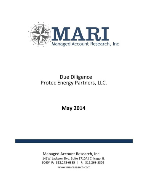 MARI Protec eBook May 2014