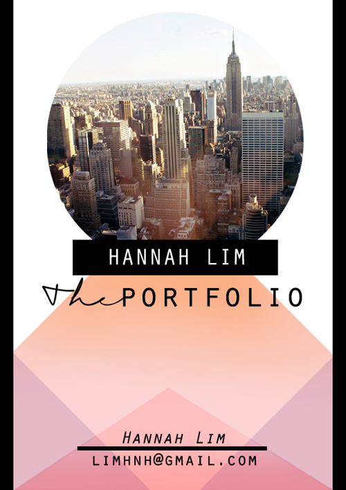 Hannah Lim - Portfolio