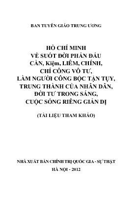 Tai lieu tham khao sinh hoat CB
