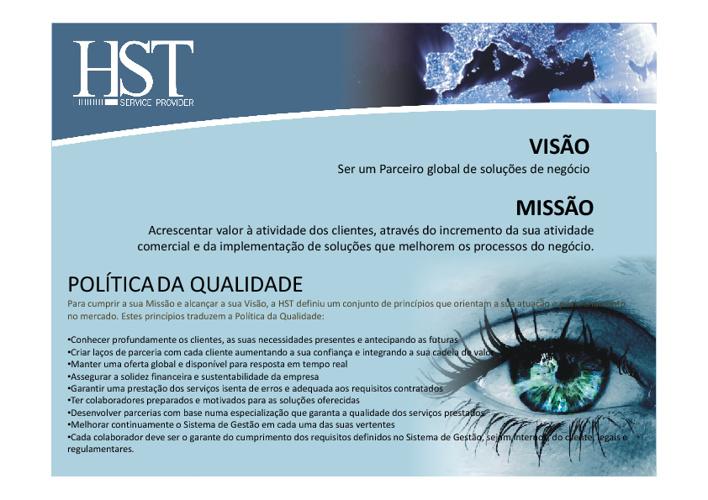 HST Service Provider