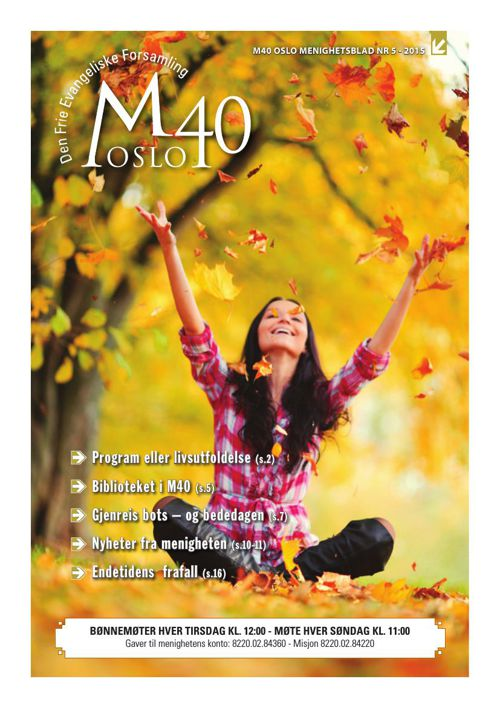 M40 Oslo Menighetsblad