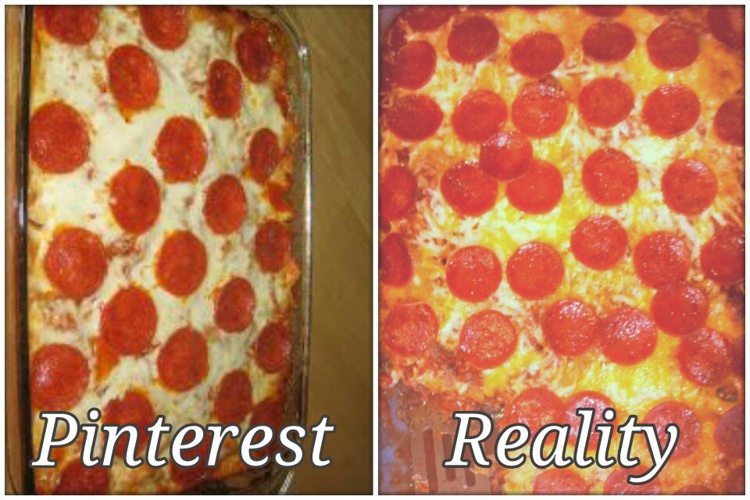 Pinterest vs. Reality by Sam Barr