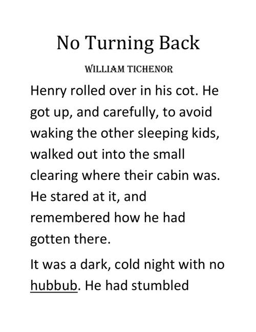 No Turning Back (intro)