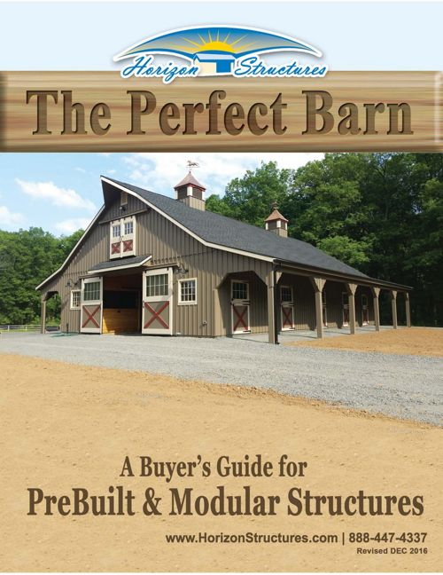 "Horizon Structures ""The Perfect Barn"""