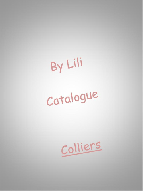 Catalogue By Lili_Colliers
