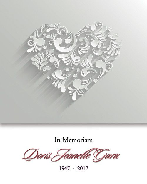 Memorial Card