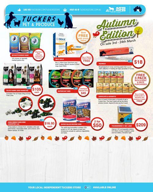 Tuckers Catalogue Autumn Edition - VIC SA