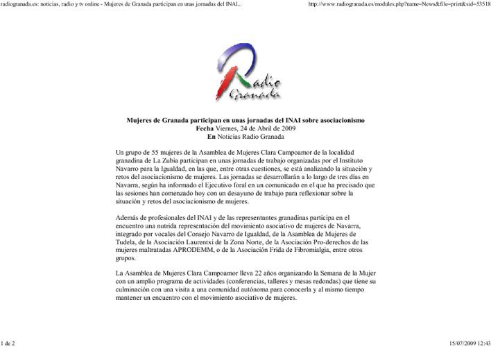 Noticias Granada