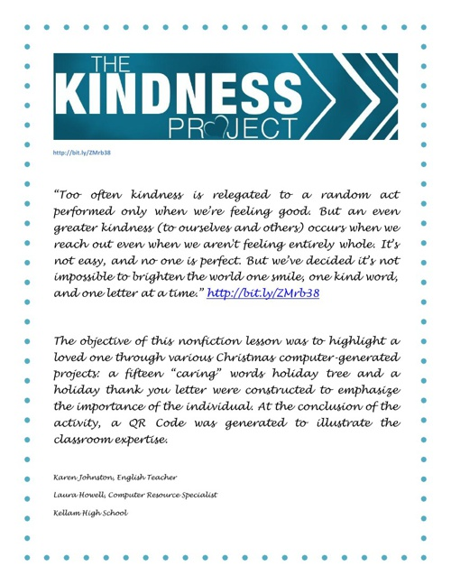 Kindness Project 3B