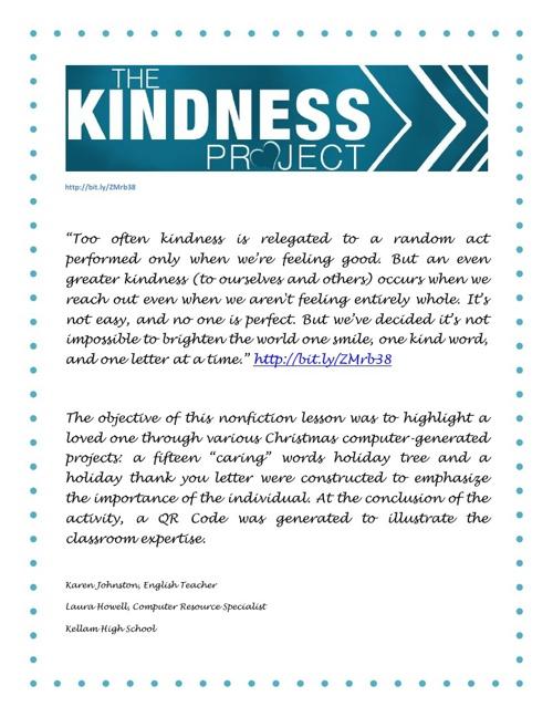 Kindness Project 3B
