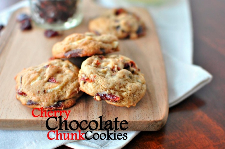 Cherry Chocolate Chunk Cookies