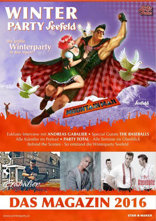 Winterparty Magazin 2016