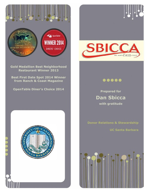 Dan Sbicca Report