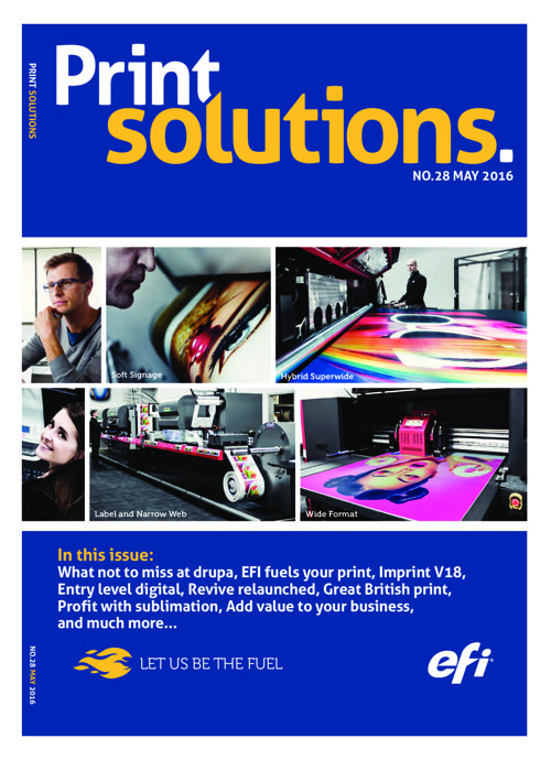 Print Solutions #28 - may 2016
