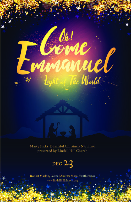 Emmanuel Christmas Program Template
