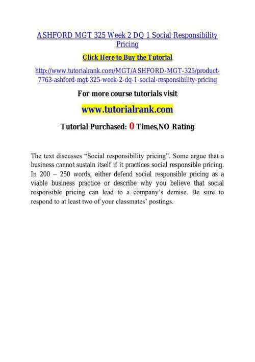 ASHFORD MGT 325 learning consultant / tutorialrank.com