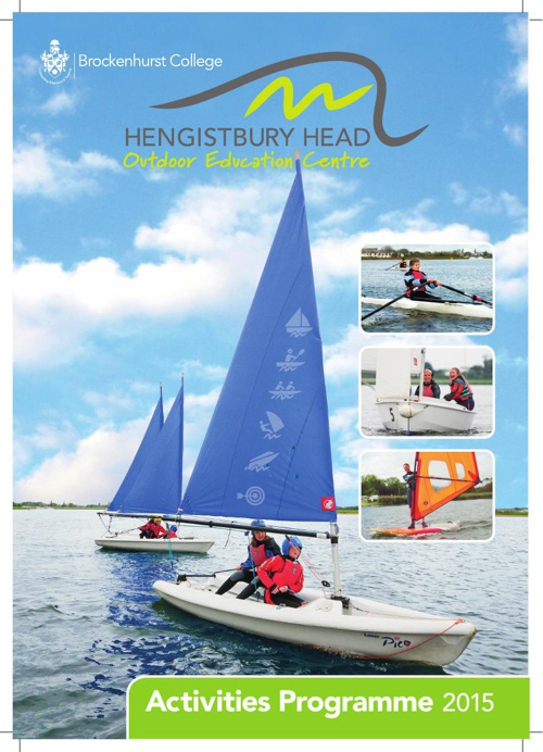 Hengistbury Head Outdoor Centre Brochure