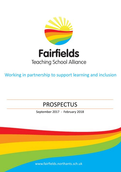 Prospectus September 2017 - February 2018