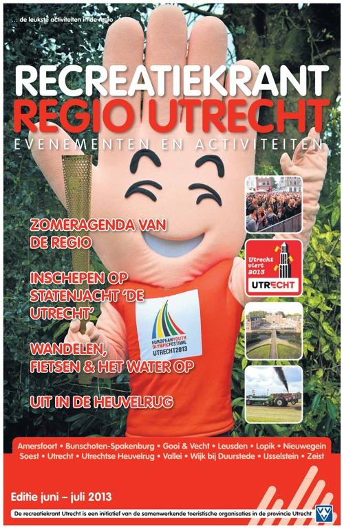 Recreatiekrant provincie Utrecht juni-juli 2013