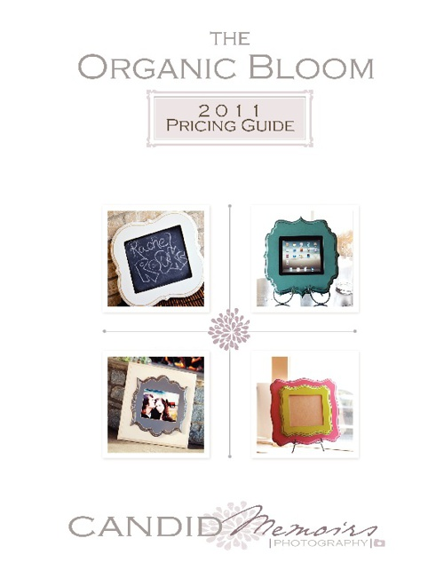 The Organic Bloom Frame Product & Pricing Guide