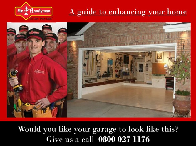 Enhance your home - Mr Handyman Glasgow