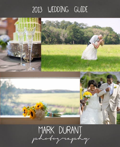 2013 Mark DuRant Photography Wedding Guide- JLE
