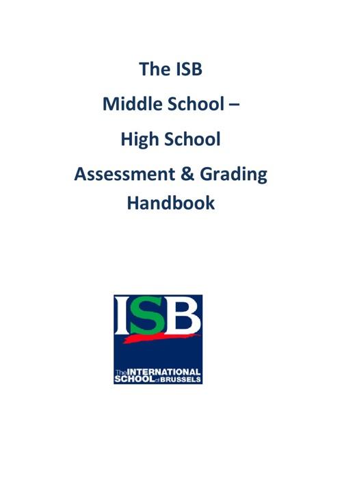 Assessment Handbook 2013-2014