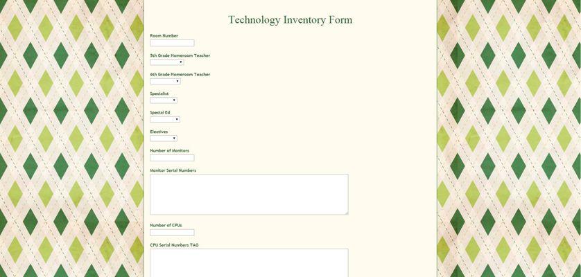 Tech form