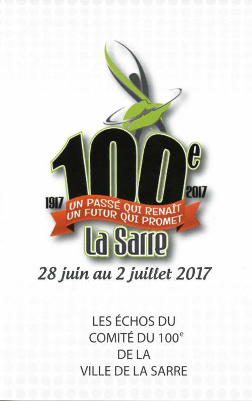 Les Echos du 100e ( de La Sarre )