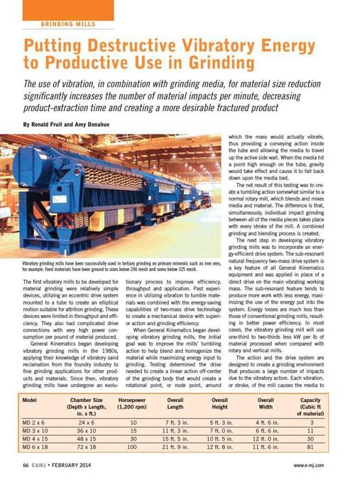 Engineering & Mining Journal 2014