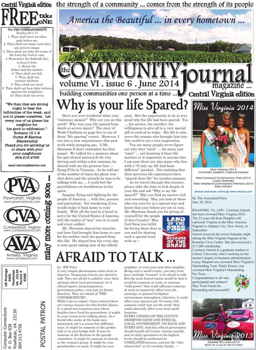 The Community Journal of Central Virginia