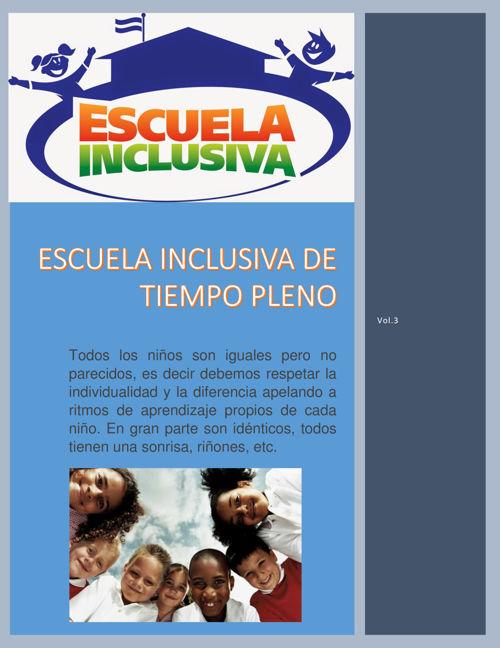 Escuela Inclusiva de Tiempo Pleno