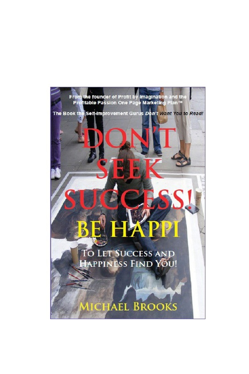 Don't Seek Success - Be Happi Two Chapter Preview