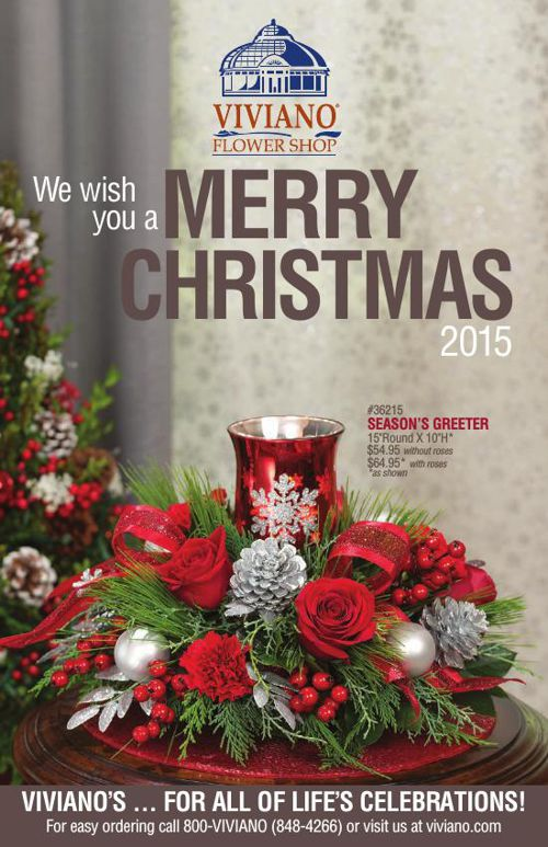 Viviano Flower Shop Christmas Catalog 2015