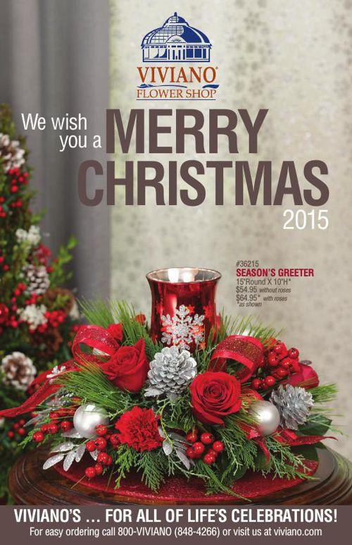 Viviano Flower Shop Christmas Catalog 2015