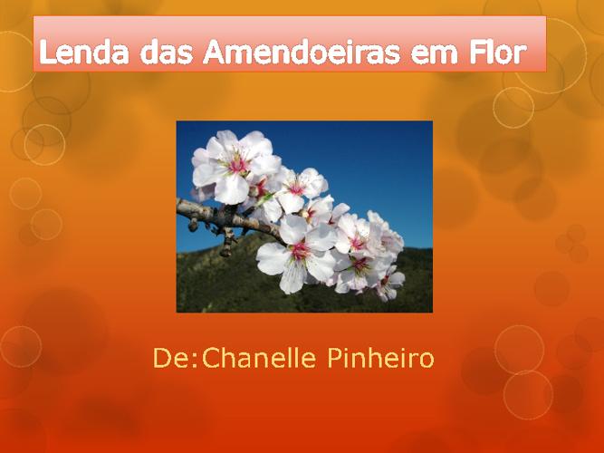 Copy of lenda das Amendoeiras Chanelle