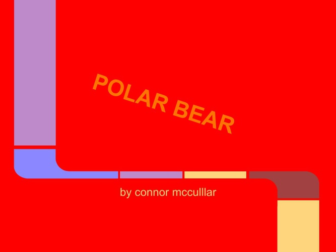 The Poler Bear Adaptations