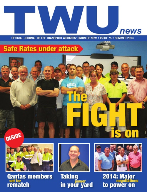 TWU News Summer 2013