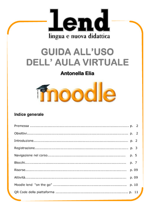 TUTORIAL AULA VIRTUALE LEND MOODLE 2.0