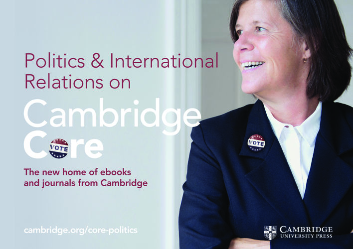 Cambridge Core Politics and Intl Relations flyer 2017