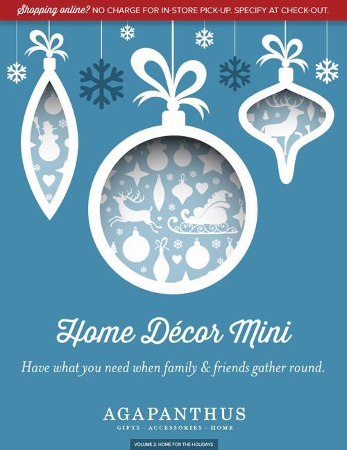 Holiday Mini Volume 2-Home Decor