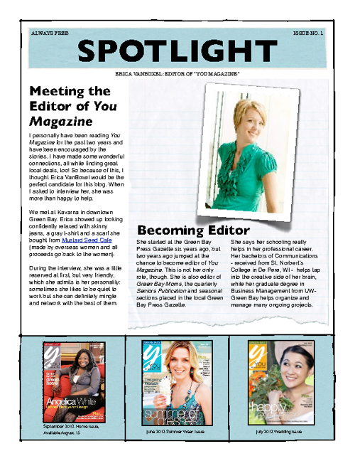 Spotlight eMag August 2012