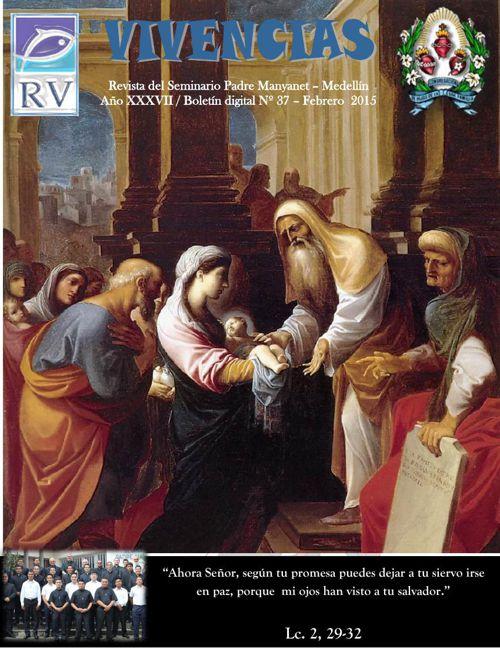 Edición revista Febrero Seminario padre Manyanet-Medellín